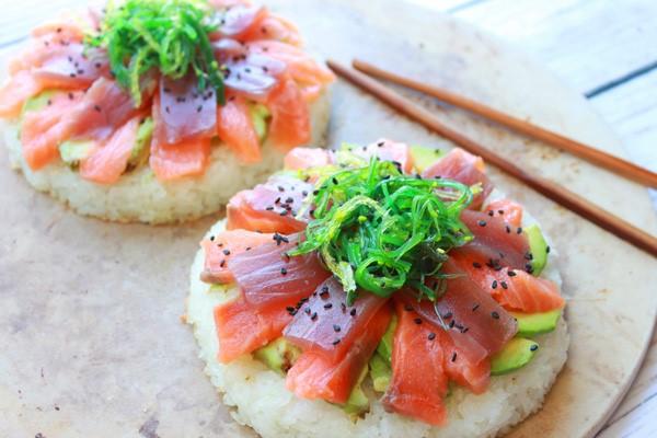 Sushi Pizza La globalización de la pizza