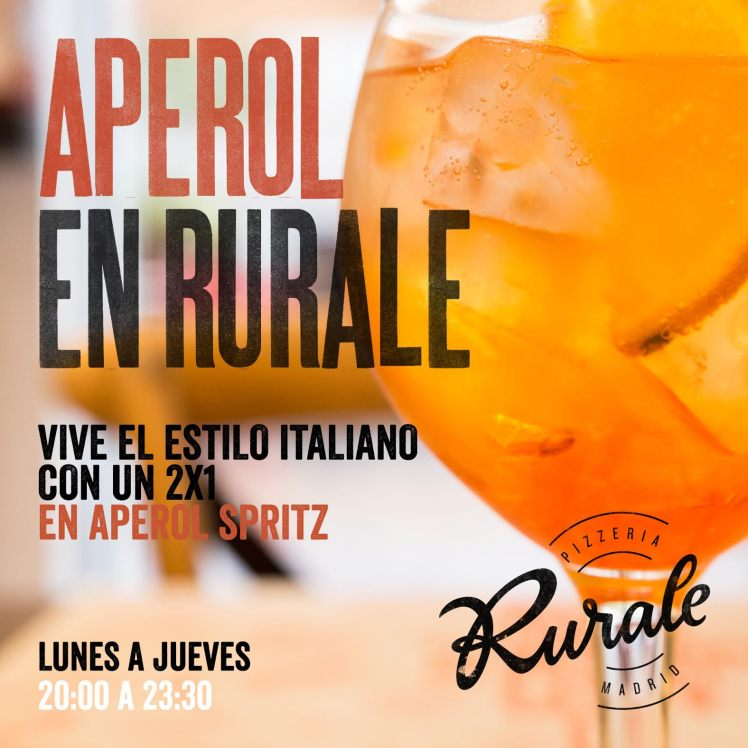 Aperol en Rurale II Pizzeria Rurale